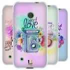 HEAD CASE FLORAL SHUTTER SILICONE GEL CASE FOR NOKIA LUMIA 530