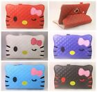 New Hello Kitty Leather Skin 360 stand Case Cover for Samsung Galaxy Tab tablet