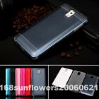 2in1 Aluminum Metal Back + Soft TPU Skin Cover Case For Samsung Galaxy Phones