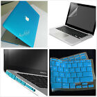 """4in1 Rubberized Hard Case Cover keyboard for Macbook Pro 13"""" 15""""/Air 11""""13""""inch"""