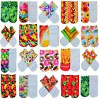 2015 New Men Women Fashion Cotton 3D Printed Cartoon Animals Low Cut Ankle Socks