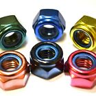 M8 GWR Colourfast® Hex Nyloc Nuts - A2 Stainless Steel - Coloured Hexagon Nut