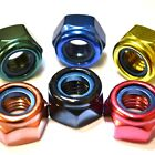 M6 GWR Colourfast® Hex Nyloc Nuts - A2 Stainless Steel - Coloured Hexagon Nut