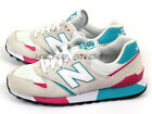 New Balance U446SMWT D Light Grey & White & Pink-Turquoise Lifestyle Casual NB