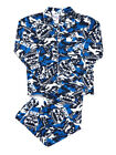 Mens AFL Licensed Flannel 2pc PYJAMAS Pjs FREMANTLE DOCKERS Sz S M L XL