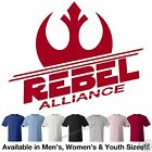 STAR WARS Rebel Alliance Logo in RED T-Shirt in 7 Colors M/W/Y Sizes
