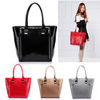 Ladies Designer Faux Leather Celebrity Style Large Size Tote Bag Handbag College