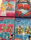 BNIB Children's swimming swim armbands Minnie Mickey Mouse Spiderman Princess