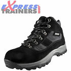 Wyre Valley Mens Snowdon Waterproof Leather Outdoor Hiking Boots Blk *AUTHENTIC*