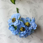 5 10set simulation Flower bouquet of Flower blossoms Head Wedding bridal party