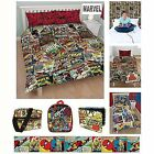 OFFICIAL MARVEL COMICS BEDDING AND BEDROOM ACCESSORIES BAGS BACKPACKS AND MORE!