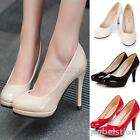 Womens Fashion Classic Platform Stilettos High Heel Office Dress Work Pump Shoes