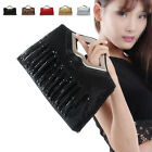 New Womens Clutch Cocktail Evening Party Tote Handbag Shoulder Chain Bag Purse