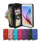 Magnetic Wallet Leather Case For Samsung Galaxy S4 S5 S6 S7 Edge Note 4 5