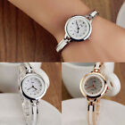 Fashion Girl Ladies Alloy Round Quartz Analog Dress Bracelet Wristwatches Watch