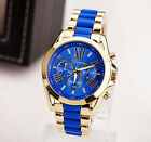 New - Luxury Geneva Roman Style Alloy Quartz Girl Women Ladies Wrist Watch