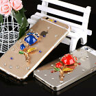 3D Crystal Diamond Rhinestone Case Cover For Samsung NOTE 7/Edge/Mege/S7/ON5/S6