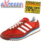 Adidas Originals Mens SL72 Casual Classic Retro Trainers Scarlet *AUTHENTIC*