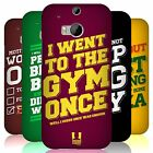 HEAD CASE DESIGNS FUNNY WORKOUT STATEMENTS HARD BACK CASE FOR HTC ONE M8