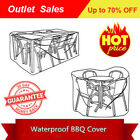 *waterproof Outdoor  Patio Garden Tables Chairs Furniture Cover 10 Size,pe Woven