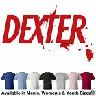 Dexter Logo T-Shirt Avail. in 6 Colors Men's/Women's/Youth Sizes
