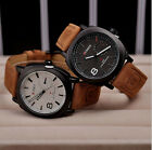 CURREN Men's Fashion Sport Watches Men Military Leather Band Quartz Wrist Watch