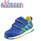 Adidas Infants Toddlers Kids BRZ Snice 3 Velcro Trainers Blue AUTHENTIC