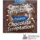 PASANTE CHOCOLATE TEMPTATION Flavoured Latex Condoms FAST FREE POST Private