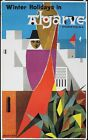 Vintage Winter Holidays in The Algarve Portugal Tourism  Poster  A3 Print