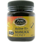 Pure Gold Active 15+ Manuka Honey Choice of Sizes One Supplied