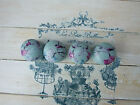 BLUE BIRD 'SHABBY CHIC' STYLE KNOBS FOR CUPBOARDS/ DRAWERS
