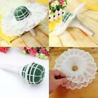 Cute Lace Collar Of Flower Floral Bouquet Foam Handle Holder Wedding UK ED