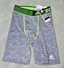 Adidas compression shorts thghts Underwear Gray Small New Tech fit base layer S