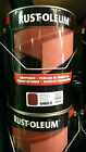 5lt Rustoleum Fast Quick Drying Rust Inhibiting Shop Metal Primer Red / Grey