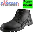 Caterpillar Mens Graft Premium Leather Work Outdoors Chukka Boots *AUTHENTIC*