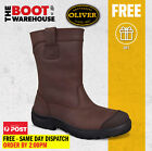 Oliver 34692 Steel Toe Safety Work Boots, Pull On Riggers & Mining UPGRADED STYL
