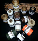 Waxed Polyester Thread 2 oz spool 3 ply Basketry Beading Jewelry Leather Crafts