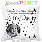 ❤PERSONALISED CUSHION ANY MAN FATHERS DAY GIFT ANY PHOTO CHRISTMAS BIRTHDAY ❤