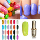 15ml Vernis à Ongles Soak-off Gel UV Décor Ponçage Glitter Permanent Nail Art