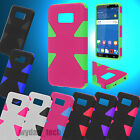 For ZTE Paragon Zephyr Hybrid Dynamic Case Hard Silicone Cover