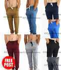 Mens Casual Gym Sports Trackies Skinny Slim Track Pants 8248 8 colours S M L