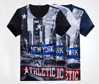 Vogues Athleteic Star Solid Fannel New York City T-Shirts Tee Shirt Jersey QP114