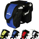 Roswheel Bike Cycling Double Pannier Bicycle Frame Front Tube Double Side Bag