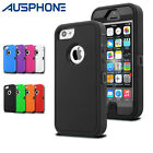 Heavy Duty Shockproof Silicone Tough Hard Case Cover For Apple iPhone 6 7 8 Plus