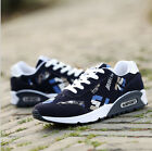 Mens Plimsolls Running Trainers GYM Walking Shock Absorbing Sports Fitness Shoes