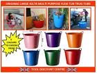 LARGE MULTI PURPOSE FLEXI TUB TRUG STORAGE GARDEN WASHING BUCKET 42 LITRE