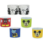 Mickey Mouse Set Of 2 Ceramic Egg Cups - New & Official Disney In Display Box