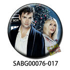 Doctor Who DavidTennant  button pin magnet gift Billie Piper DRwho Tardis