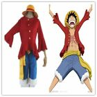 HOT !One Piece Monkey D. Luffy 2 Years later Cosplay Costume Cloth Free Shipping