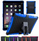 Shock Proof Heavy Duty Hybrid Hard Armour Builder Case Cover For iPad Tablets